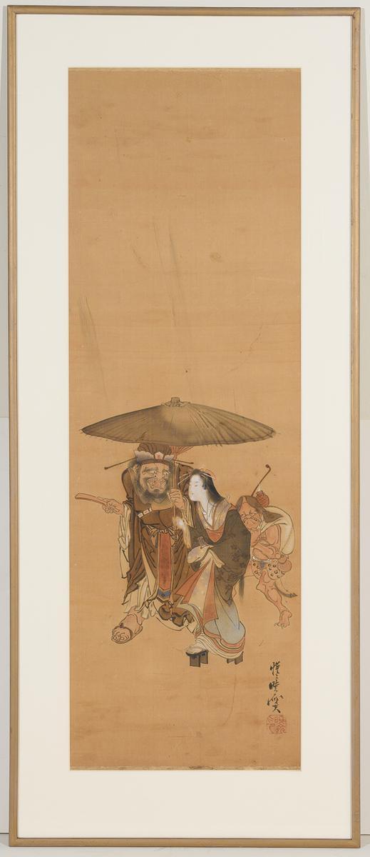Shoki, the Demon Queller, and his Sister